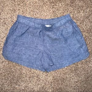 Vineyard Vines Chambray Pull On Shorts Size XS